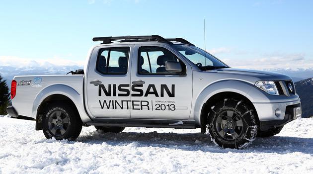 Nissan en el Cerro Catedral