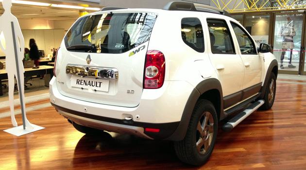 Renault presento al Duster Los Pumas