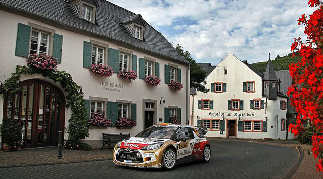 Triunfo de Sordo y Citroen en el Rally de Alemania