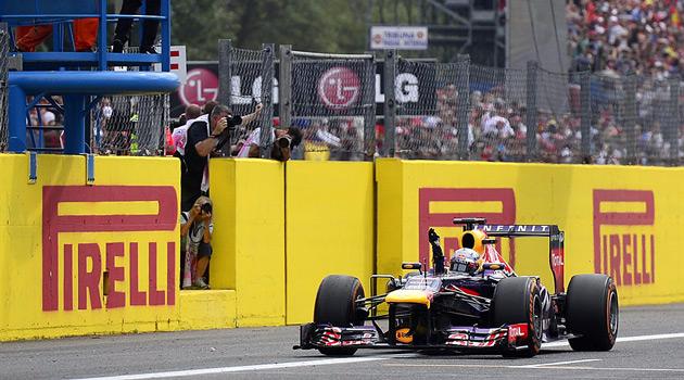 Sebastian Vettel se afianza en la punta del campeonato
