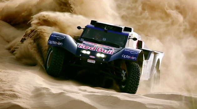 Red Bull se prepara para el Dakar 2014