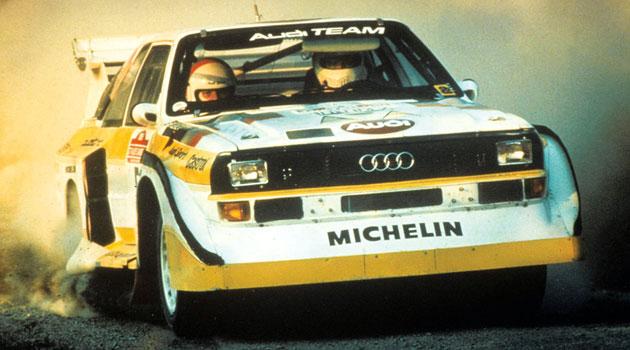 Audi S1 Rally