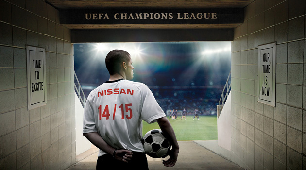 Nissan sponsor oficial de la Liga de Campeones de la UEFA