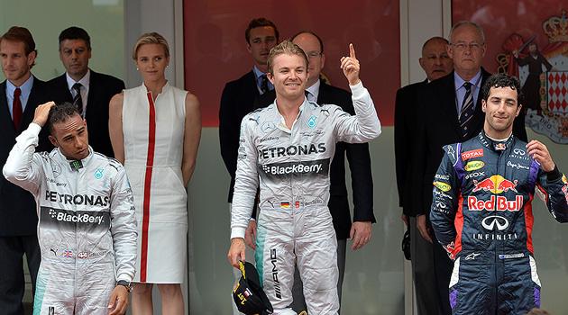Triunfo de Rosberg en el GP de Monaco
