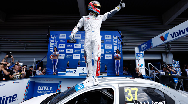 Gran triunfo de Pechito Lopez en Spa-Francorchamps