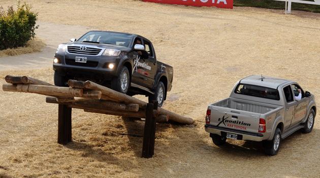 Toyota en La Rural 2014