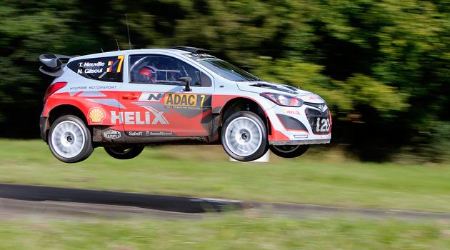 Victoria de Hyundai en el Rally de Alemania