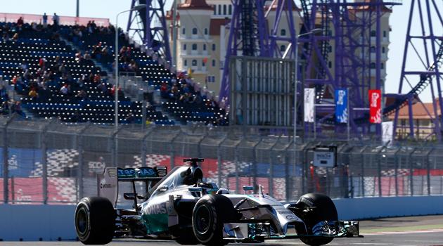 GP de Rusia F1