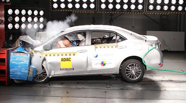 El Toyota Corolla recibió las 5 estrellas de Latin NCAP