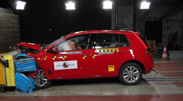 Máxima Seguridad para el Volkswagen Golf - Latin NCAP