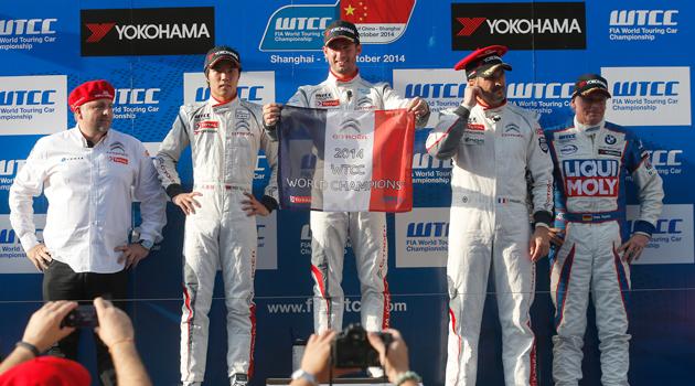 Citroën Campeón del WTCC