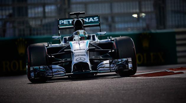 Hamilton campeón - GP de Abu Dhabi F1