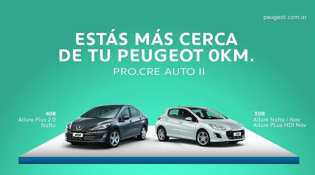 Peugeot venderá más de 5.500 autos en el Pro.Cre.Auto