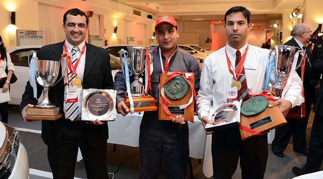 Concurso de Habilidades Técnicas y Atención al Cliente de Toyota