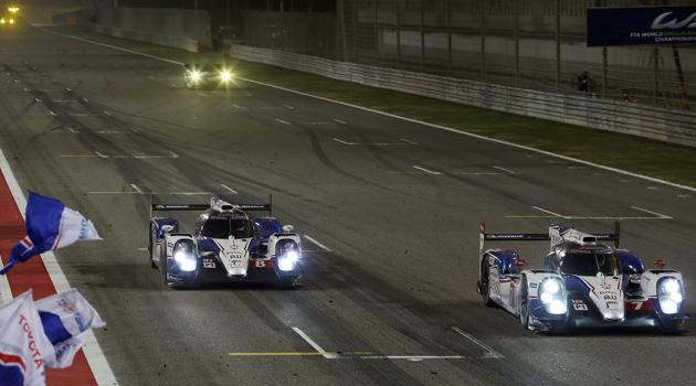 Davidson y Buemi campeones - WEC en Bahrain