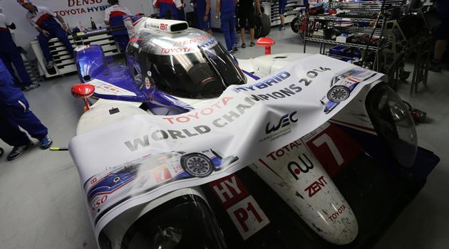 Toyota Campeón 2014 en el Mundial de Resistencia - WEC
