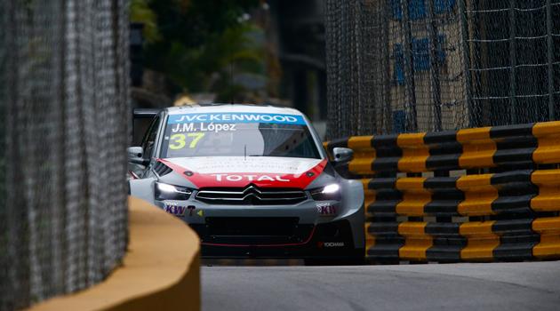 Pechito y Citroën cerraron con triunfo - WTCC en Macao