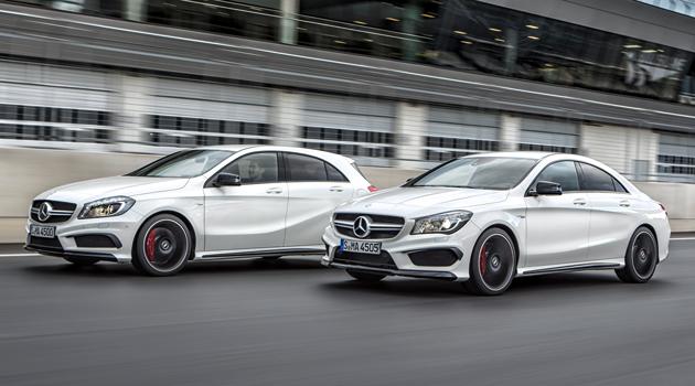 Mercedes-Benz A 45 AMG y CLA 45 AMG
