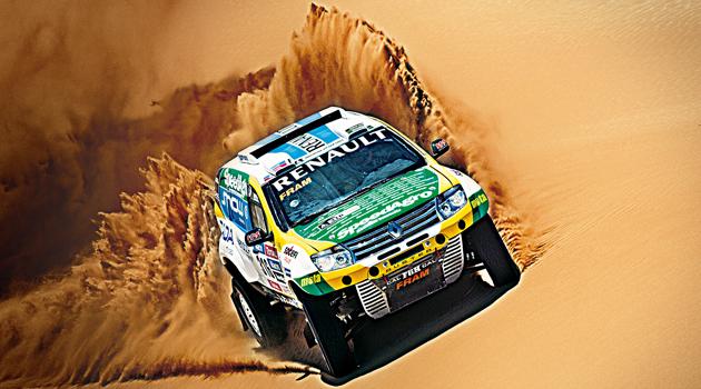 El Renault Duster Dakar Team listo para el Dakar2015