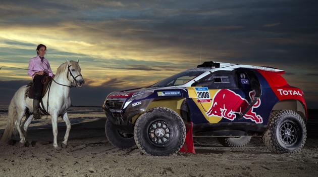 Los preparativos de Red Bull para el Dakar 2015