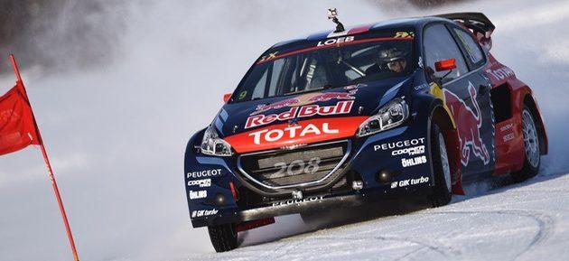 Loeb y Peugeot juntos en el Rallycross