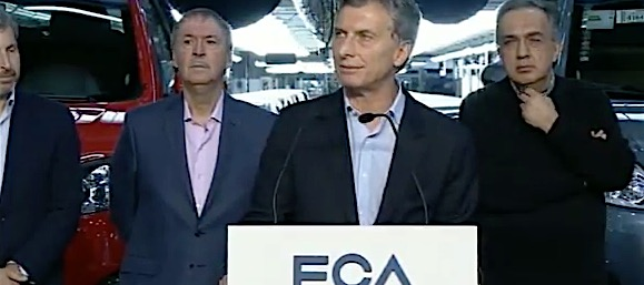 FCA producirá un nuevo modelo en Cordoba