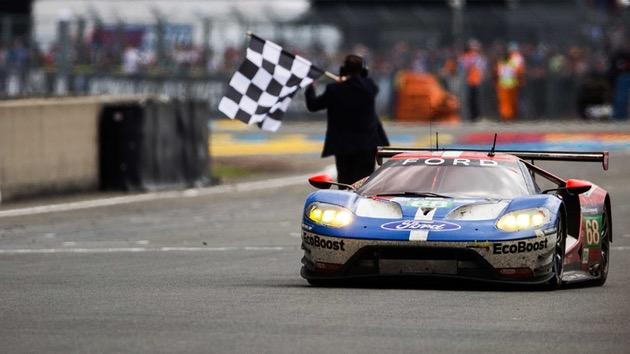 Triunfo de Ford en las 24 Horas de Le Mans 2016