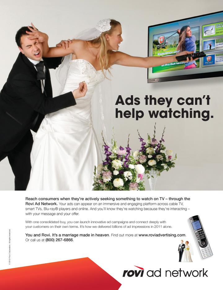 """Rovi """"Bridezilla"""" Print Ad"""