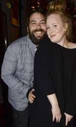 Adele și Simon Konecki