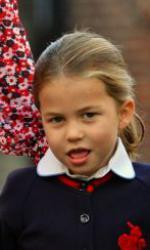 Prințesa Charlotte a început școala