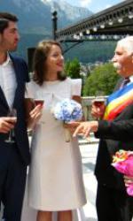 Ana Maria Brânză și soțul ei