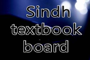 Sindh textbook board jamshoro