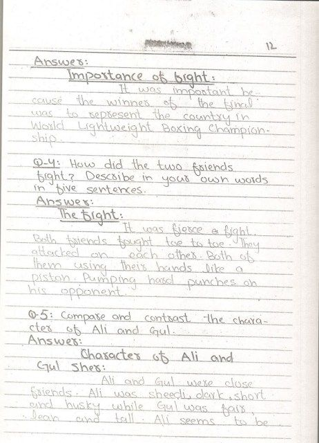 Unit 02 The Champions Class 10 English Notes 2