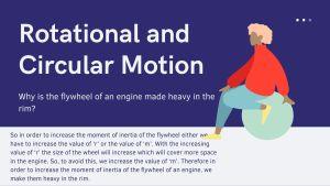 Physics class 11 notes Rotational and Circular Motion