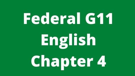 Federal G11 English Chapter 4 From Mother With Love