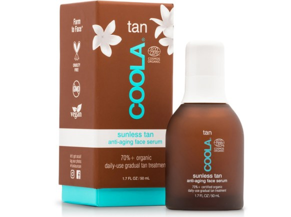 Coola Sunless Face Tan Self Tanner Anti Aging