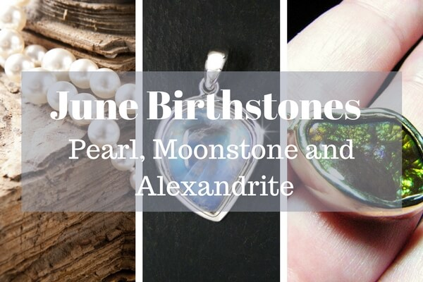 Birthstone For June Alexandrite Pearl And Moonstone Perfect