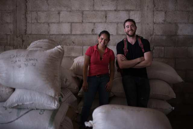producer and ceo of Yave at a coffee farm