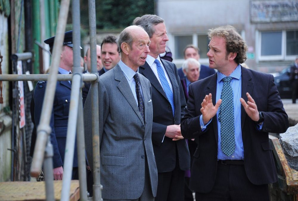 Cornwall's Marine Businesses get a Royal Seal of Approval