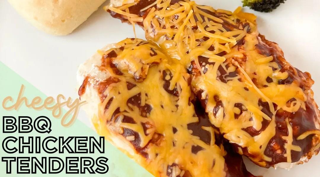 Cheesy BBQ Chicken Tenders