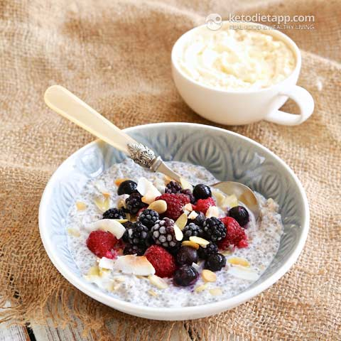 Low Carb Oatmeal Substitutes The Best Keto Oatmeal