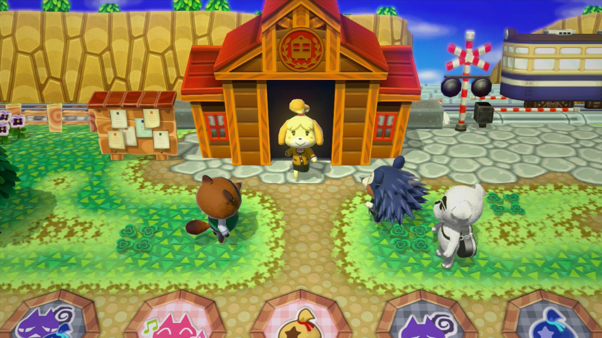 Image of: School Animal Crossing Happy Home Designer 3ds Comes Out On July 30th In Japan September 25th In North America And October 1st In Europe Perfectly Nintendo Animal Crossing Happy Home Designer Japanese Overview Video More