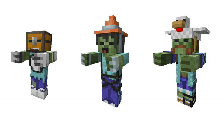 Lord Minecraft Zombie Skins