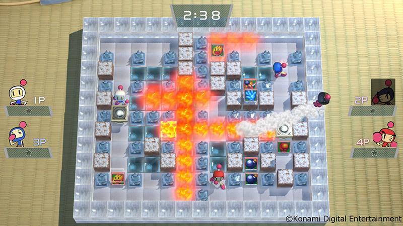 Super Bomberman R se patche