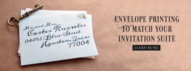 Screen Printed Wedding Invitations Blue Moon