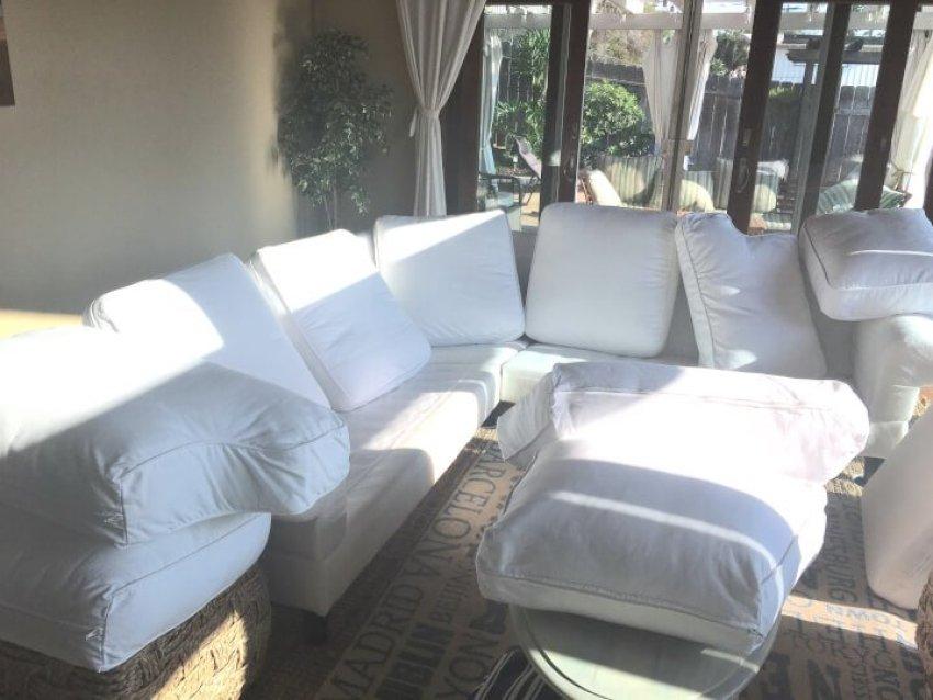 Ektorp Review, IKEA Ektorp Review, Cleaning IKEA Ektorp Slipcover, Cleaning white slipover, White slipcover sofa