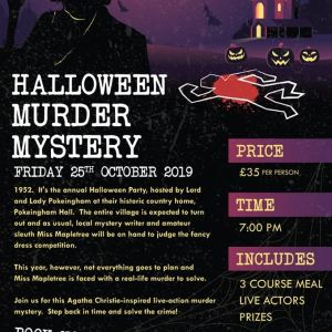 Halloween Murder Mystery 2019