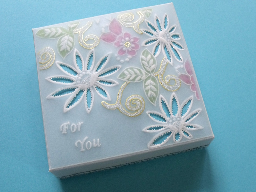 Mandy Haines For You Parchment Craft Gift Box