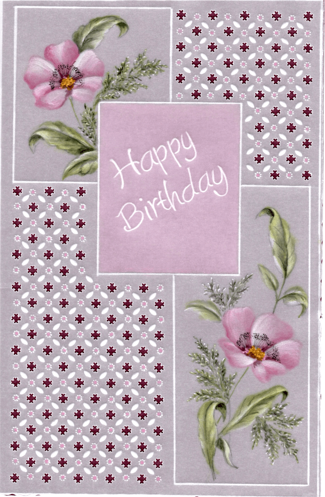 Dorothy Holness Happy Birthday DHProject15 A Card