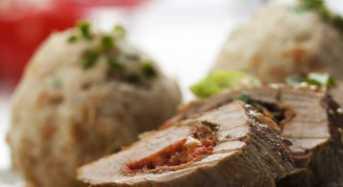 Ψαρονέφρι γεμιστό με φέτα και φασκόμηλο